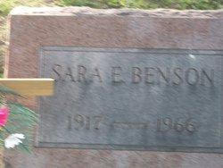 Sarah Ellen Benson