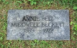 Annie Bell <i>McDowell</i> Beckett