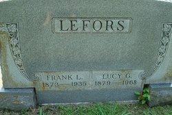 Lucy G. <i>Jesse</i> Lefors