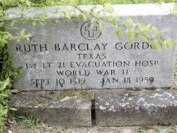 Ruth Elizabeth <i>Barclay</i> Gordon