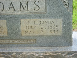 Patience Lucinda <i>Sizemore</i> Adams