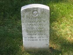 Albert Frederick Andrews