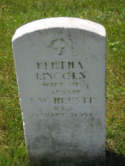 Bertha <i>Lincoln</i> Heustis