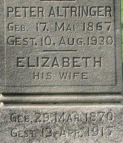 Elizabeth <i>Schuler</i> Altringer