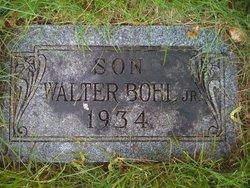 Infant Walter Bohl, Jr