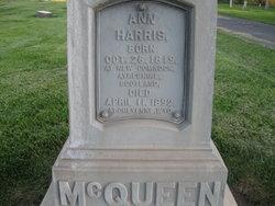 Ann <i>Harris</i> McQueen