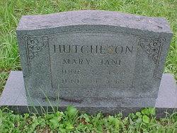 Mary Jane <i>Price</i> Hutcheson