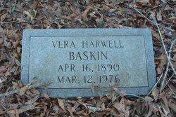 Vera <i>Harwell</i> Baskin