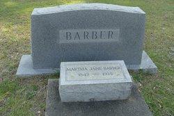 Martha Jane <i>McLeod</i> Barber