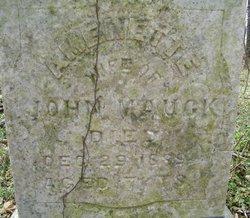 Amerette Martha <i>Tinkham</i> Mauck
