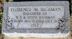 Florence M Hickman