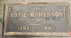 Rosie Mandy <i>Tabor</i> Henson