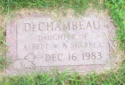 Infant Daughter DeChambeau