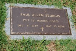 Paul Allen Sturgis