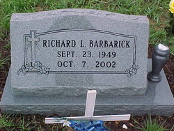 Richard Lee Dick Barbarick