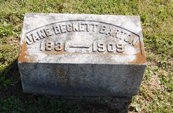Jane <i>Beckett</i> Barton