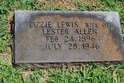 Lizzie Lou Anna <i>Lewis</i> Allen