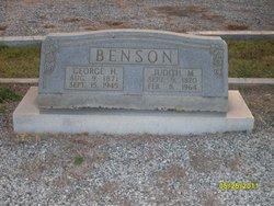 Judith M. Benson