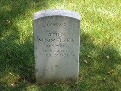 Alice <i>Schmelzer</i> Holmes