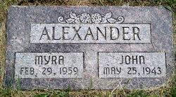 Myra Alexander