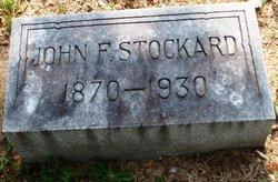 John F Stockard