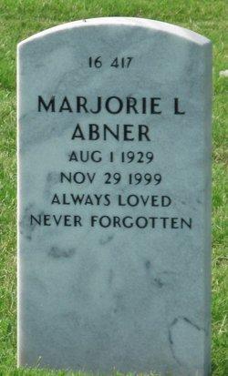 Marjorie Lee <i>Salmon</i> Abner
