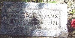 Byron Emory Adams