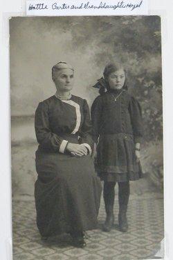 Mary Harriett Hattie <i>Thomas</i> Carter