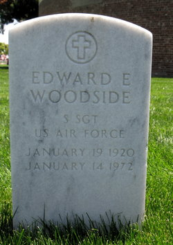 Sgt Edward E Woodside