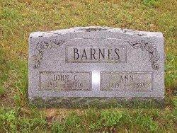 Anna <i>Sykes</i> Barnes