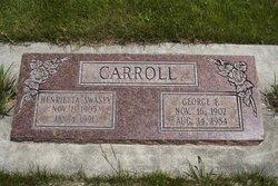 Henrietta <i>Swasey</i> Carroll