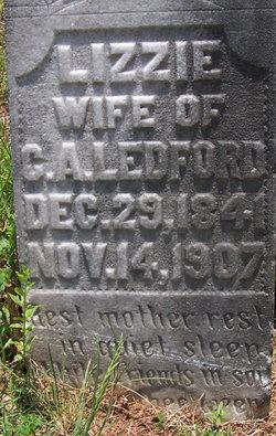 Mary Elizabeth Lizzie <i>Hood</i> Ledford