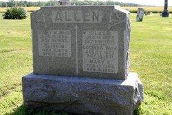 Olive M Allen