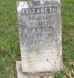 Elizabeth <i>Collins</i> Allder