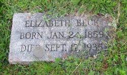 Elizabeth <i>Holvey</i> Beck