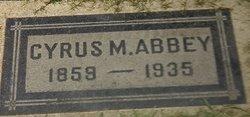 Cyrus Morey Abbey