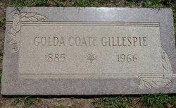Golda May <i>Coate</i> Gillespie