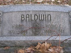 Annie C. <i>Cable</i> Baldwin