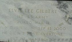 Lieut Elvis Lee Gilbert
