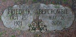 Frieda Katherine <i>Schlick</i> Abercrombie