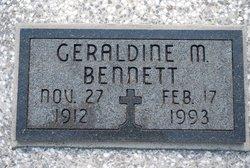 Geraldine Maxine <i>Garriott</i> Bennett