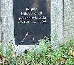 Regine <i>Radischewski</i> Hildebrandt