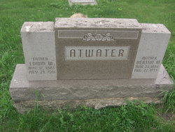Bertha M. Atwater