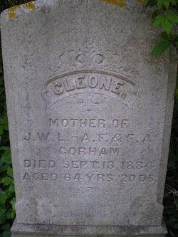 Cleone <i>Gray</i> Gorham