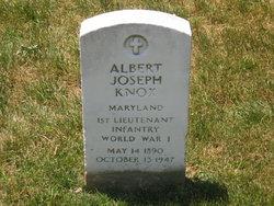 1st L Albert Joseph Knox