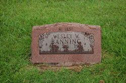 Wesley W Banning