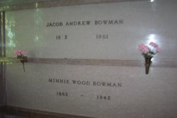 Minnie <i>Wood</i> Bowman