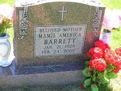 Mamie America <i>Jones</i> Barrett