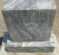 Mattie Bell Clements