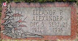 Eleanore P Alexander